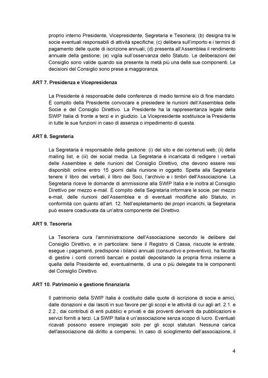Statuto ratificato SWIP Italia 4